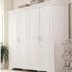 衣柜实木整体推拉门家具大衣柜索菲亚定制壁柜木衣柜韩式收纳柜