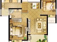 悦庭 87㎡ 2室2厅