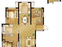 逸庭 122㎡ 3室2厅