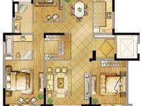 澜庭 142㎡ 3室2厅