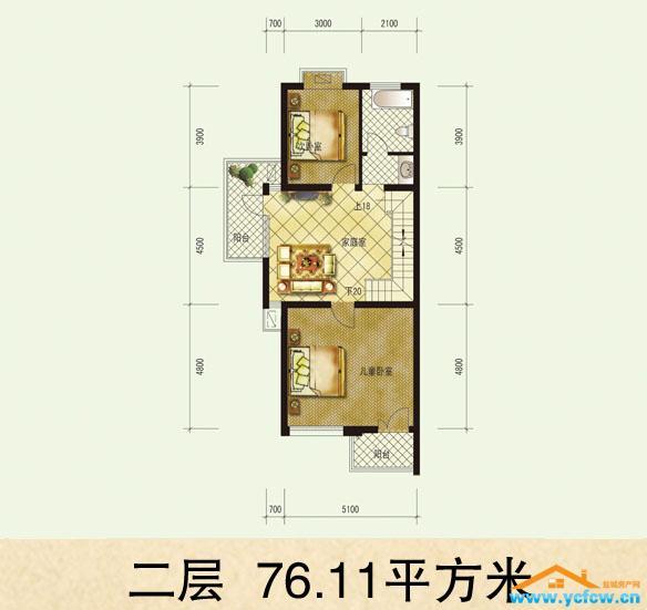 单身公寓_盐城大纵湖水润天成户型图_盐城房产网