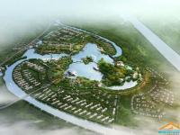大洋湾生态运动公园鸟瞰图