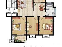 9-11#樓-110㎡-三室兩廳一衛