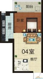 4室 63平米