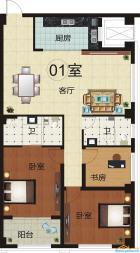 1室 140.31平米
