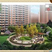 悦达悦珑湾 小区中心景观图