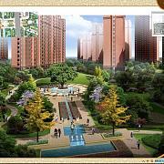 悦达悦珑湾 小区景观图