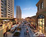 2-06-B地块商业内街透视图