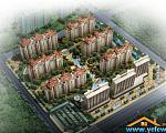 中南世纪城 鸟瞰图2
