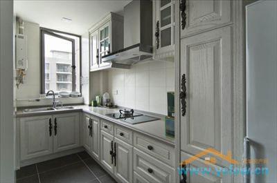 100平米装修样板间:厨房