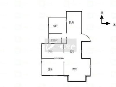 城东景山学校德惠尚书房 毛坯小三房 送20平车库 有钥匙图片