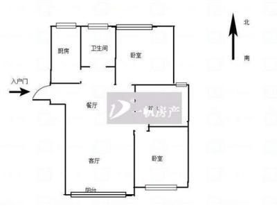锦盛豪庭  毛坯三房 学校旁 120.94平  180万 不图片