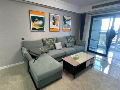 尚海滩花园 4室2厅1卫 精装修 123平 128.6万图片