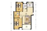 城东一号精装三房,电梯好楼层,南北通透,满2年,诚心出售