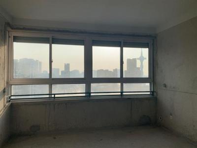 瑞尔花园对面华厦绿城全新毛坯电梯房南北通透户型方正图片