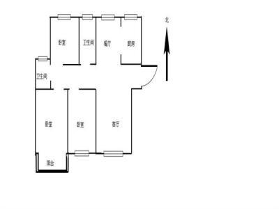 万达附近(西城逸品)3室毛坯腾飞路学校靠近半岛花园桃源居图片