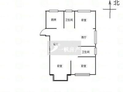 瑞尔花园 毛坯三房 132.36平 265万图片