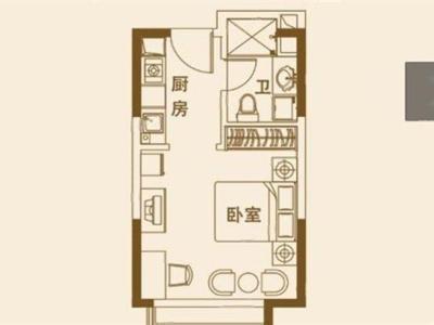 神州路网红公寓恒大名都精装朝南 仅售33万图片