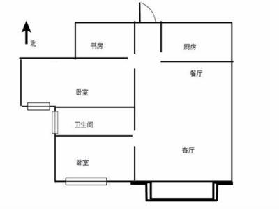 龙桥新园 精装两房 送车库 性价比高93万图片