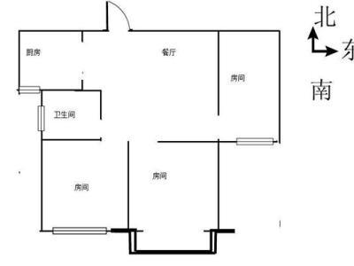 解放路边上都市豪庭中装小三房77.78平送车库总价108万图片