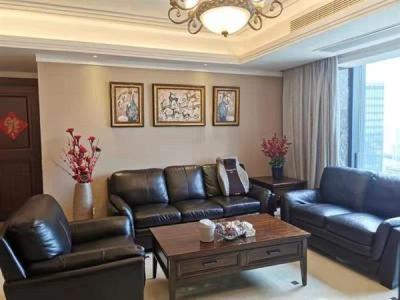 金融城 地暖房 精装大四房 家具家电齐全  拎包即住看房方便图片