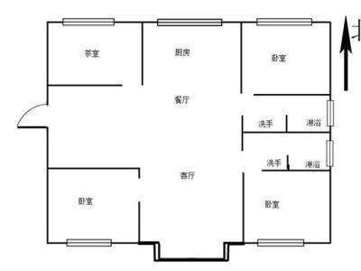 申鑫名城 毛坯大三房 144.66车库11.02平 16图片