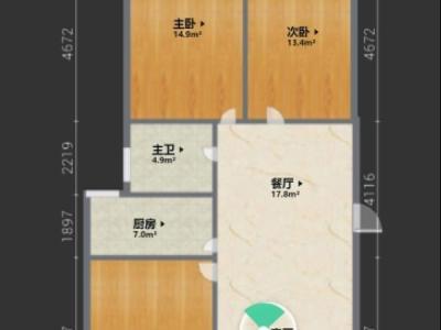 必看好房 华厦绿城 3室2厅1卫图片