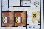 出售神州河畔景苑 101.97平米 2室2厅 115万元