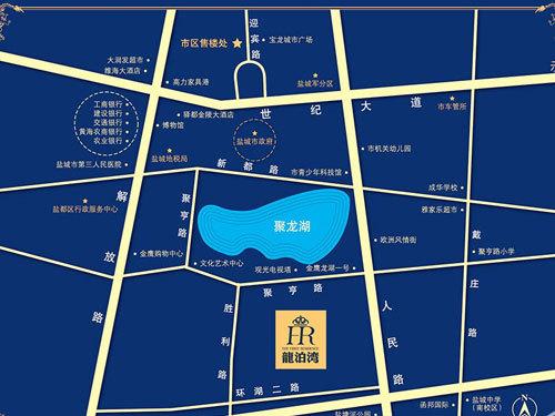 龍泊湾 区位图