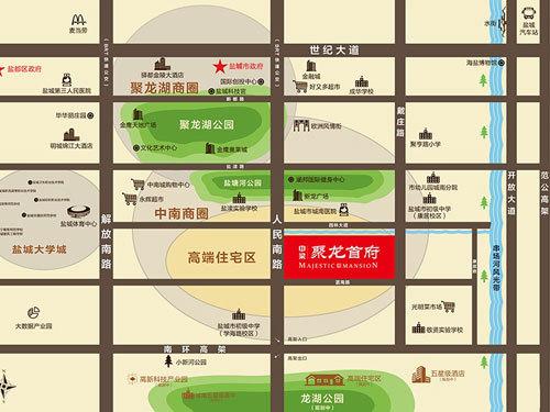 中梁·聚龍首府 外景圖