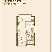 单身公寓D 单身公寓D