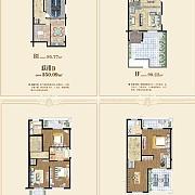 联排D  4室4厅4卫 联排D  4室4厅4卫