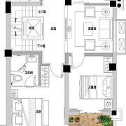 御墅 地上二层 4室0厅2卫 御墅 地上二层 4室0厅2卫