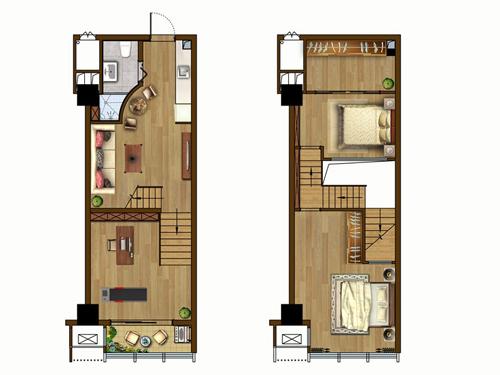 绿洲·6M第宅 户型图
