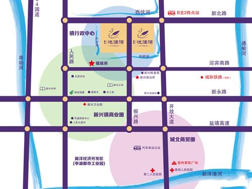 浙舟·悅瀾灣 區位圖