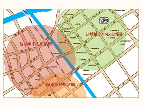 力拓悅城 區位圖