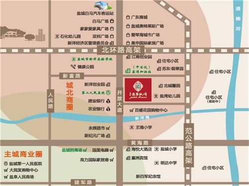 蘇東·翡翠楓情 區位圖
