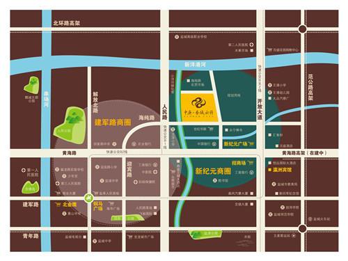 中庚·香城云開 區位圖