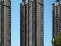 高层住宅透视图