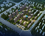 香苑东园 建筑鸟瞰图