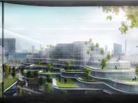 空中绿化效果图