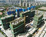 万科悦达·翡翠云台 2019年6月现场施工进度