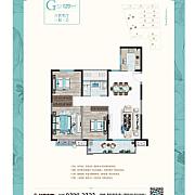 3室2厅1卫 面积:120㎡ 3室2厅1卫 面积:120㎡