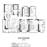 4室2廳3衛 面積:241㎡ 4室2廳3衛 面積:241㎡