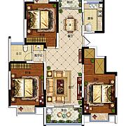 3室2厅1卫 3室2厅1卫