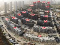2019年11月中海萬錦公館工程進度航拍