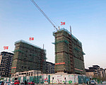中南熙悦 2019年12月施工进度