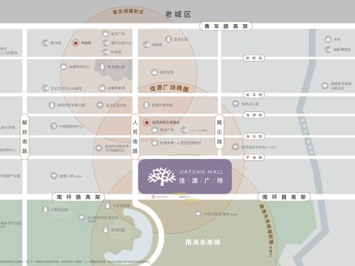 佳源广场 区位图
