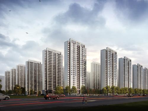 绿地香港·理想城 效果图