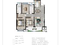 玲舒120平米三室兩廳兩衛